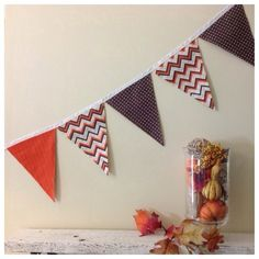 Buntings for every holiday @ etsy.com/shop/momandmestitch
