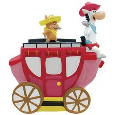 Quick Draw McGraw Cookie Jar made by Westland Giftware