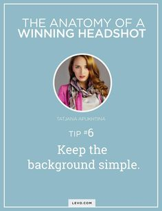 Your professional profile should capture the authentic *you*—the professional, the fun, and the unique aspects of you. To kick off a successful 2016, check out these tips to a winning headshot and profile photo! @LevoLeague www.levo.com
