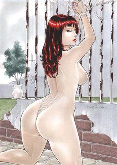 Mary Jane by Rubismar da Costa - Ed Benes Studio