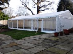 Our 6m by 12m #marquee  out on #hire  in #dagenham   this weekend :)