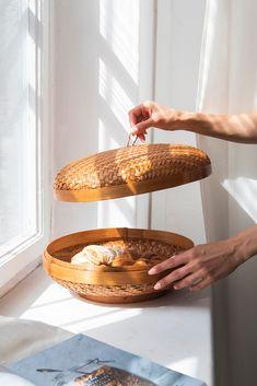 Kosz z bambusa | Misy dekoracyjne | Kosz do przechowywania | AWAI Concept Store
