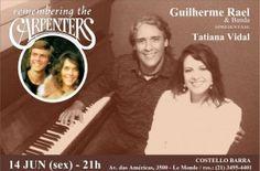 Um show com temas românticos na Semana dos Namorados! Nesta sexta feira, dia 14 de junho!