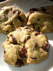 Janine's Real Food Recipes: Grain Free Chocolate Chip Cookies