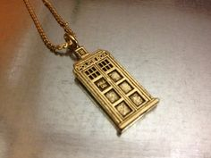 Doctor Who necklace!