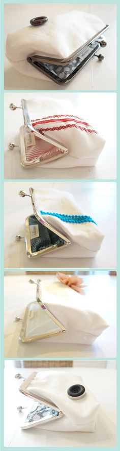 The sweetest bridesmaid gifts. Clutch Mini, Clutch Purse, Blue Bridesmaid Dresses, Bridesmaid Gifts, Bridal Clutch, Gifts For Your Mom, Fashion Accessories, Fresh, Purses