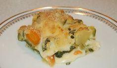 Gratin léger de légumes au camembert WW, un bon plat léger, facile et simple à réaliser pour accompagner des filets de viandes ou de poisson.