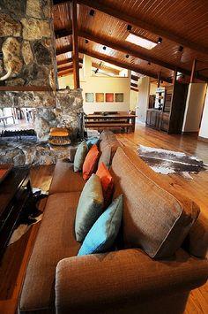 Living room by Ree Drummond / The Pioneer Woman