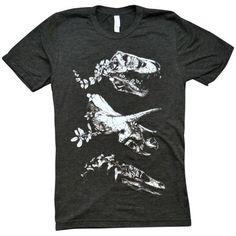 'Jurassic Bloom' Shirt (Tri-Blend)