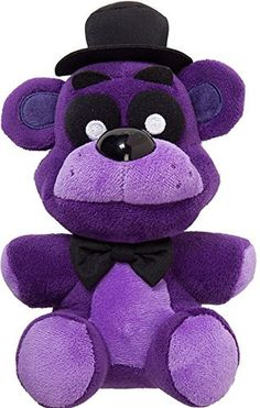"HOT NEW Five 5 Nights at Freddy's 7"" Plush Doll Toy Gift Purple #FiveNightsatFreddysBrand"