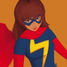 Kamala Khan by instagram.com/kamalacate Ms Marvel Captain Marvel, Pacific Rim, Naruto, Disney Characters, Fictional Characters, Comics, Disney Princess, Instagram, Pacific Coast