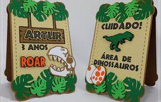 Dinasour Birthday, Dinosaur Birthday Party, Park Birthday, Boy Birthday, Die Dinos Baby, Dinosaur Room Decor, Cupcake Display, Ideas Para Fiestas, Silhouette Cameo Projects