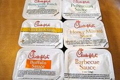 Chick-Fil-A sauce recipes.