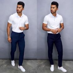 One of the best sweaters a man can wear is the turtle neck. It structures your jawline and makes you look about 20 IQ points smarter… Polo Shirt Outfits, Polo Outfit, Chinos Men Outfit, Teaching Mens Fashion, Mode Man, Stylish Mens Outfits, Herren Outfit, Instagram Outfits, Business Casual Outfits