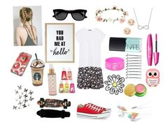 You Had Me at Hello by tfiosunicorn on Polyvore featuring Balmain, Converse, Giani Bernini, GoodWood, H&M, Forever 21, Accessorize, BOBBY, Tata Harper and NARS Cosmetics