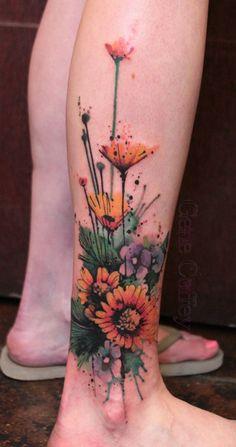 45 Inspirational Sunflower Tattoos   Cuded