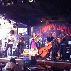The Doerfels at Sloppy Joe's in Key West Florida. They were AMAZING! Totally unexpected!