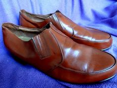 50's Excellent Condition Brown Jubilee Shoes - Sz42 (US 9) (Item number: 100479, End Time : 24 Jul. 2013 21:06:48) - apeZoot, the market place where Vintage is CULTure!