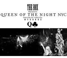 Legendary New York City nightclub ΤΗΕ ΒΟΧ is bringing QUEEN OF THE NIGHT NYC to Mykonos! Enjoy a wild and seductive immersive experience by participating on the first ever theatrical nightlife concept in Southern Europe. Pre-book your table via Luxury Concierge.  #LuxuryConcierge #ExclusiveServices #LuxuryServices #Luxury #Concierge #Elegance #Mykonos #NYC #GueenOfTheNightNYC #theatrical #nightlife