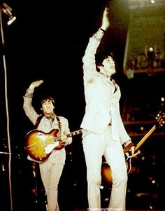 Paul and John The Beatles 1960, The Beatles Live, John Lennon Beatles, Richard Starkey, All My Loving, Lennon And Mccartney, Beatles Photos, The Fab Four, Ringo Starr