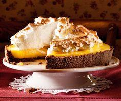 Lemon Meringue Pie  Eine Sünde wert: diese meringuierte Limetten-Pie. Schmeckt frisch am besten.