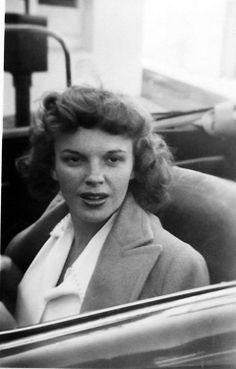 Candid of Judy Garland