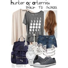 Hunter Of Artemis Back To School Cabin 8 Percy Jackson Inspired Outfit Summer Camping Outfits, Summer Outfits, Casual Outfits, Percy Jackson Outfits, Percy Jackson Clothes, Mode Harry Potter, Hunter Of Artemis, Supernatural Outfits, Character Inspired Outfits