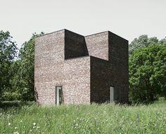 Turm, Museum Insel Hombroich - Neuss 1989 // Erwin Heerich