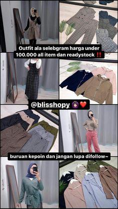 Casual Hijab Outfit, Ootd Hijab, Best Online Clothing Stores, Online Shopping Stores, Online Shop Baju, Street Hijab Fashion, Diy Fashion, Womens Fashion, Shops