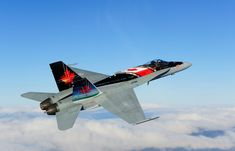 royal canadian Air Force F-18 Hornet