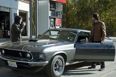 '69 Mustang from the film John Wick.