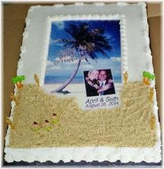 Sheet Cake Wedding Cakes - The Wedding Specialists