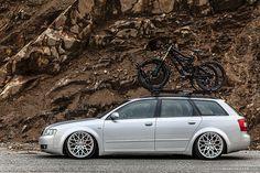 Travis Knapton's Static Audi B6 A4 Avant   Rotiform BLQ whee…   Flickr