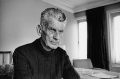 I could stare at Samuel Beckett's face for so long, it's just fascinating.