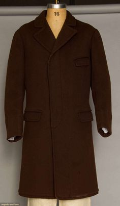 1860 Wool top coat