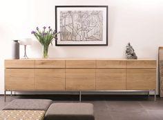 Oak LignaAnrichte - mit Türen / Schubladen