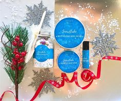 Snowflake Spa Gift Set Christmas Gift For Her Christmas