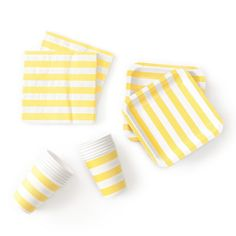 Yellow Rugby Stripe