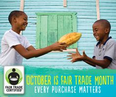 10 easy ways to celebrate Fair Trade Month in October