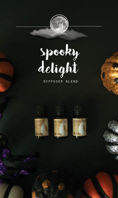 Halloween is just around the corner! To get in the spooky spirit, you can diffuse this week's brew: Spooky Delight! We've bubbled up a magical combination of Cypress, Fir Needle and Sandalwood. Have a spooky good time!