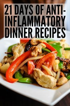 21 Day Anti Inflammatory Diet to Detox and Reduce Inflammation 21 Day Anti Inflammatory Diet Help boost your immune system and keep your autoimmune disease under control Gout Recipes, Cooking Recipes, Healthy Recipes, Snack Recipes, Keto Recipes, Crohns Recipes, Acid Reflux Recipes, Drink Recipes, Crockpot Recipes