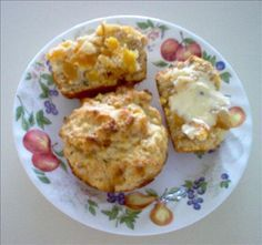 Apricot Muffins- substitute the butter for the shortening using equal proportions by creaming butter with sugar 4-5 minutes.