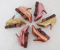 for the girl who has almost everything - chocolate shoes!