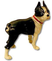Hubley Boston Terrier Door Stop