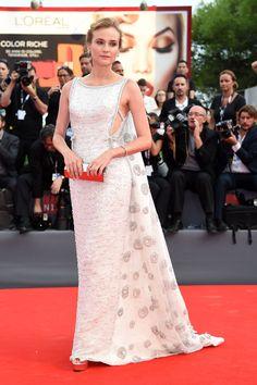 Diane Kruger en robe Prada