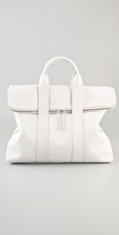 Beautiful white bag for summer  3.1 Phillip Lim