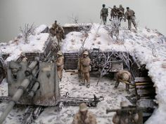 Dioramas and Vignettes: Winter episode of WWII, photo #9