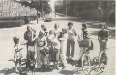 bewoners marathonstraat 1976 Historisch Centrum Leeuwarden - Beeldbank Leeuwarden
