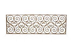 Vintage Iron Panel, Swirls