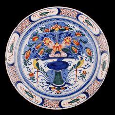 18th Century Dutch Delft Dish